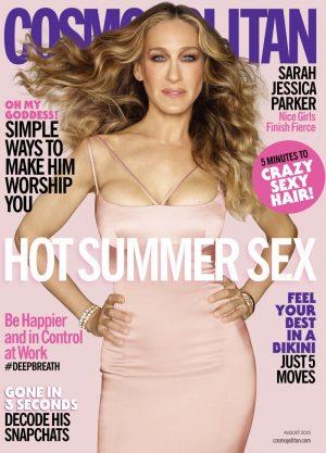 Sarah Jessica Parker Lands Cosmopolitan Cover, Talks Met Gala Memes