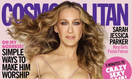 Sarah Jessica Parker on Cosmopolitan August 2015 Cover