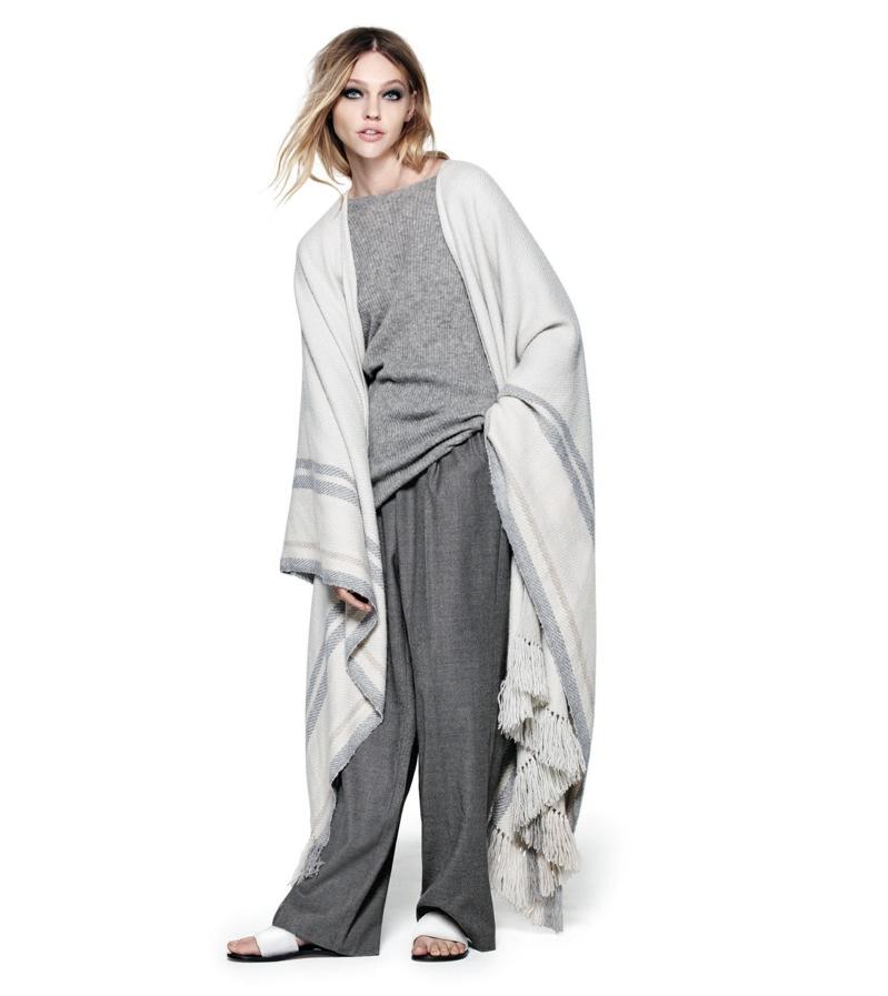 Sasha Pivovarova Gets Ready for Fall in Neiman Marcus' 'The Book'