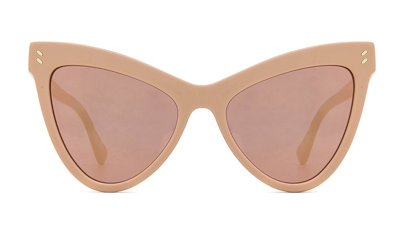 Stella McCartney Mirrored Cat Eye Sunglasses $290