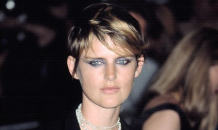 Stella Tennant is a British model whose nearly two-decade long career is in part things to her short crop. Stella's short 'do has appeared in campaigns for countless labels including Chanel,