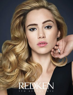 Suki Waterhouse Gives Us Serious Hair Envy in Redken Campaign