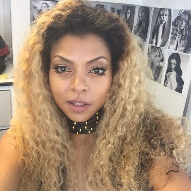Taraji P Henson debuts blonde hairstyle on Instagram