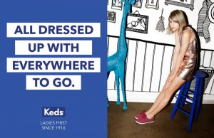 Taylor Swift Stars in Keds 'Ladies First' Campaign