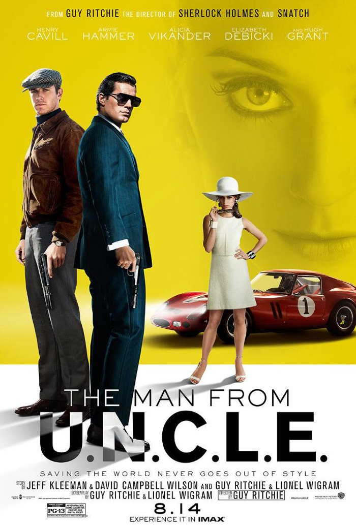 The Man from U.N.C.L.E. movie poster channels 1960s style