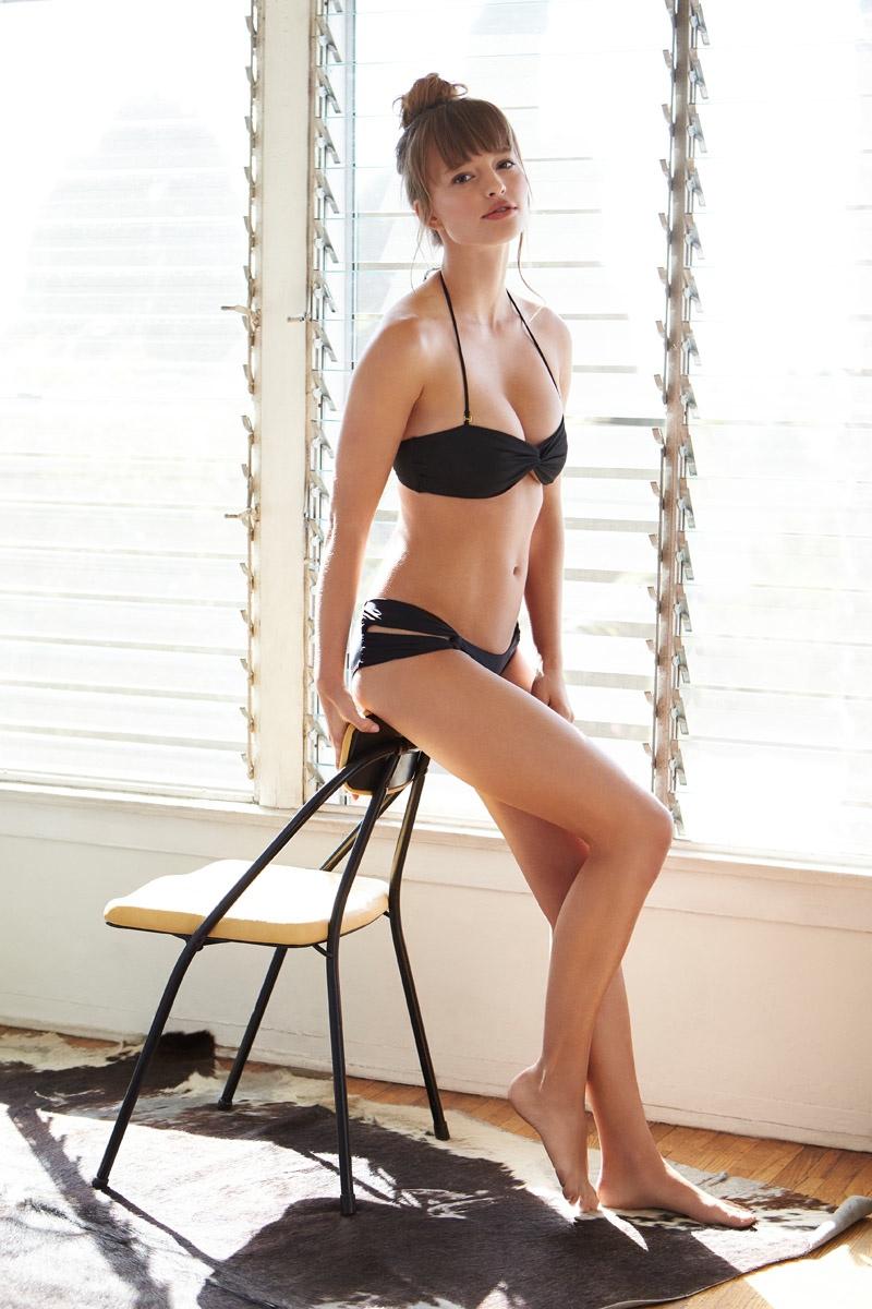 Tularosa Swim: Tereza Kecerova Models Debut Collection