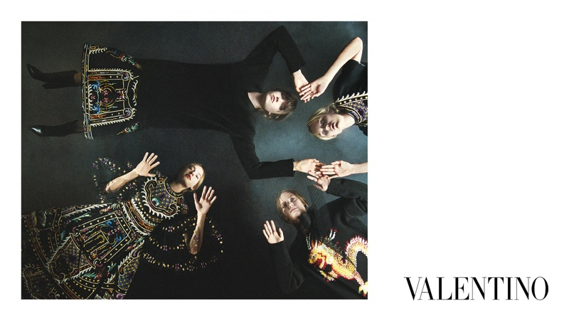 Valentino Launches Fall 2015 Campaign with Rising Stars