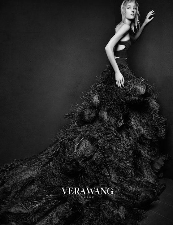 Vera Wang Black Wedding Dress Collection 8 Fresh