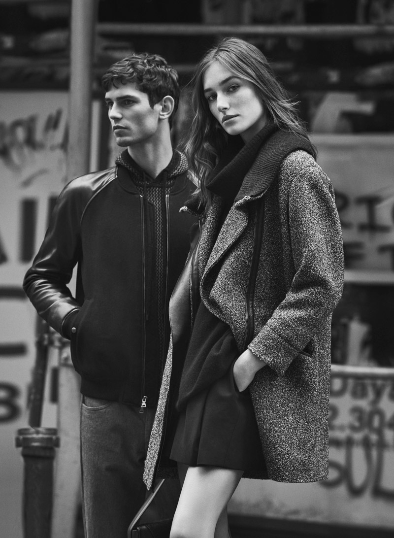 VINCE Fall 2015 campaign with Josephine Letutour