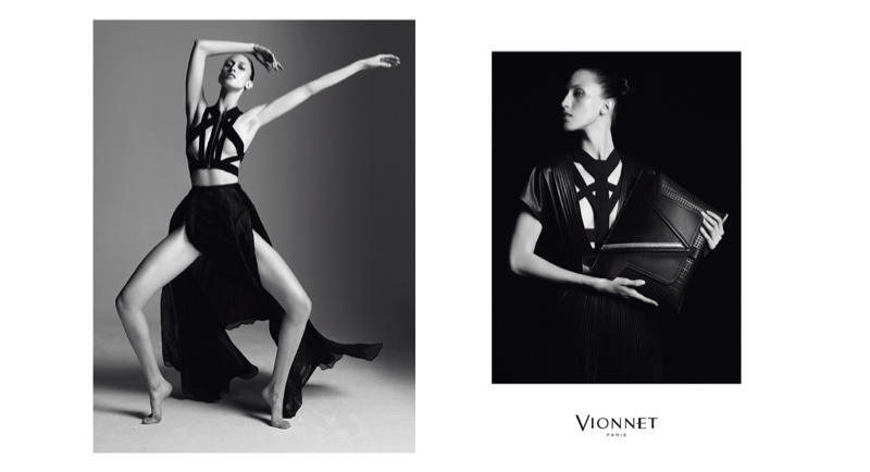 Anna Cleveland Poses Up a Storm in Vionnet's Fall 2015 Ads