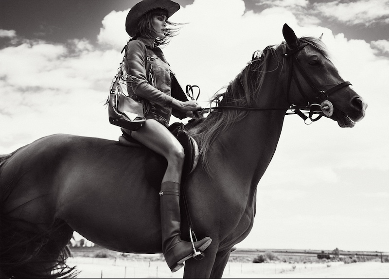 Jenna Pietersen Takes on Gritty Western Style for Myself Germany
