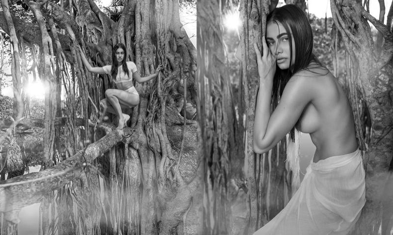 Yara Khmidan Goes 'Into the Wild' for Venice Magazine by George Kamper