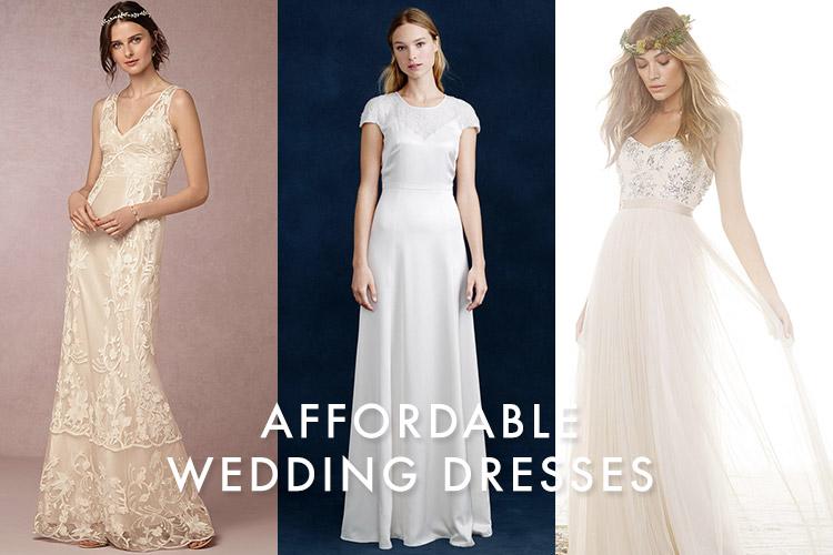 Affordable Wedding Dresses: Bridal Looks for Under $1000
