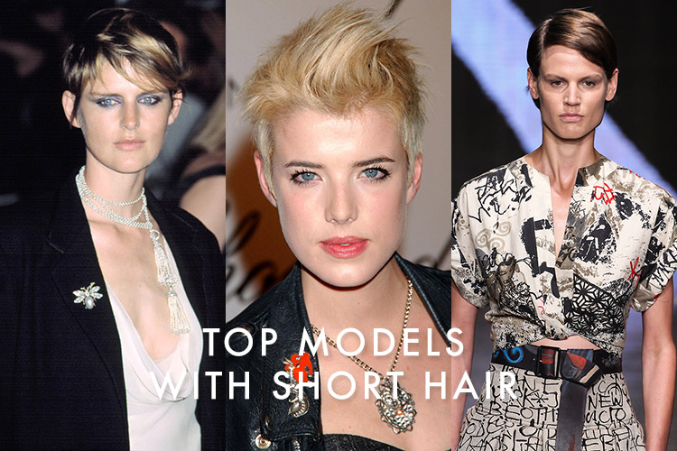 Famous female models with short hair short hair fashions famous short hair models urmus Choice Image