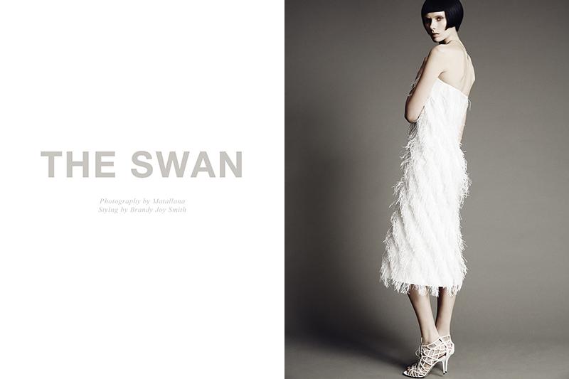 Sally Johnson by Matallana in 'The Swan'