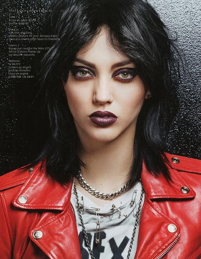 1970s Rock Roll Hair Makeup Editorial04