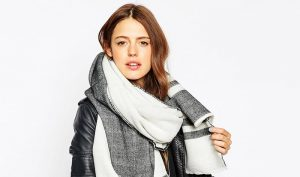 Bundle Up in These Oversized Scarves for Fall