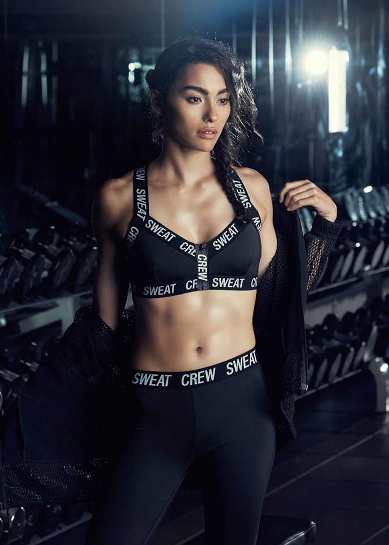 Adrianne Ho in Sweat Crew for PacSun Fall 2015 Campaign