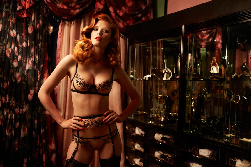 Agent Provocateur Celebrates Icons Through the Years with Fall 2015 Collection
