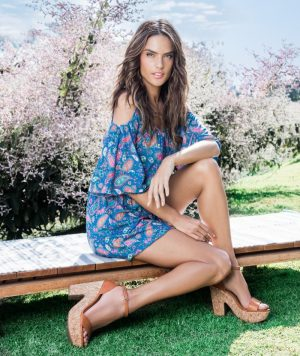 Alessandra Ambrosio Takes on Boho Style for Dafiti's Spring 2016 Campaign