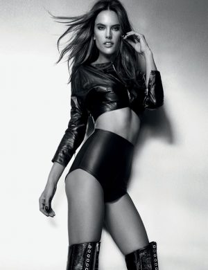 Alessandra Ambrosio Brings the Heat for Marie Claire Brazil