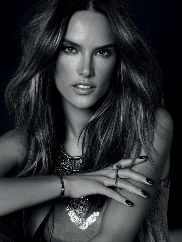 Alessandra Ambrosio Brings The Heat For Marie Claire