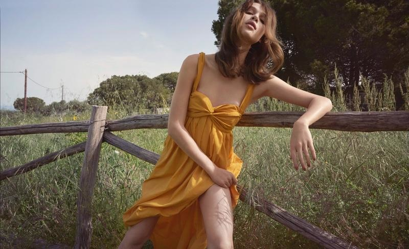 Anais Pouliot is the Ultimate Nature Girl in Costume Editorial