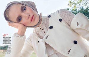 Folk Beauty: Anastasia Kolganova Poses for Allure Russia