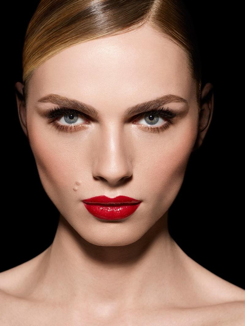 Andreja Pejic stars in Make Up For Ever 2015 campaign
