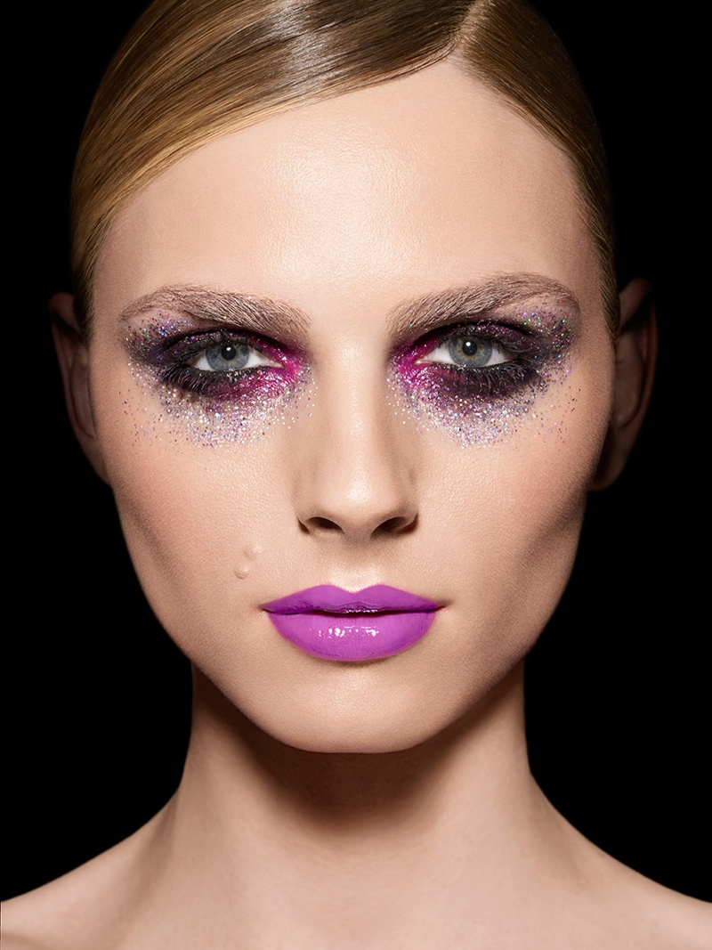 Another Look at Andreja Pejic's Make Up For Ever Campaign