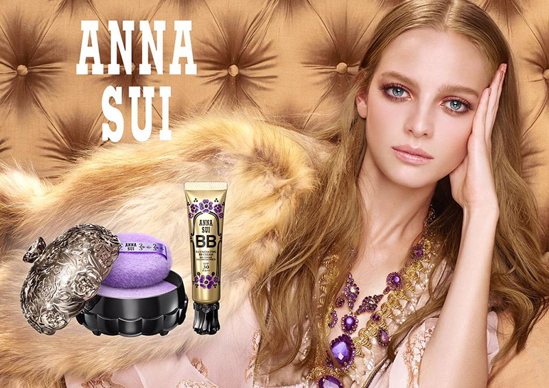 Ine Neefs is a Boho Beauty for Anna Sui