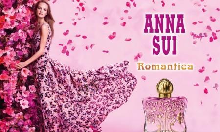 Ine Neefs stars in Anna Sui Romantica fragrance campaign