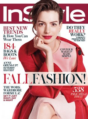 Anne Hathaway Covers InStyle, Talks Public Scrutiny