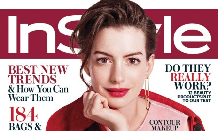 Anne Hathaway InStyle September 2015 Cover