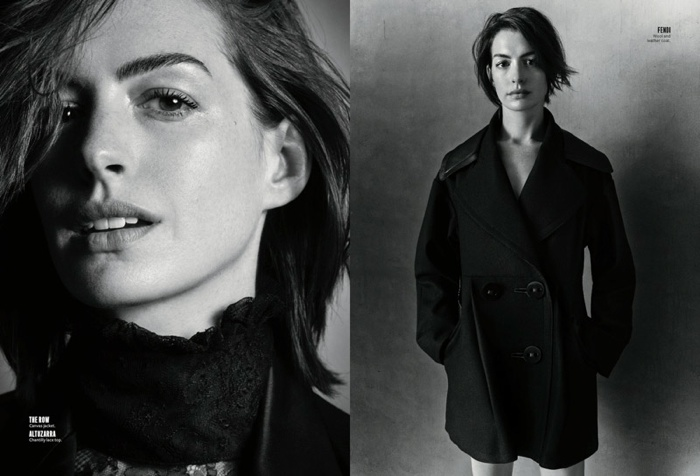 Anne Hathaway Goes Back to Basics for InStyle Feature