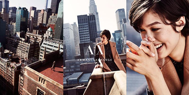 armani exchange fall winter 2015 ad campaign