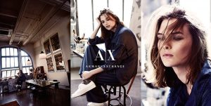 Lara Mullen, Kouka Webb Star in Armani Exchange's Fall 2015 Campaign
