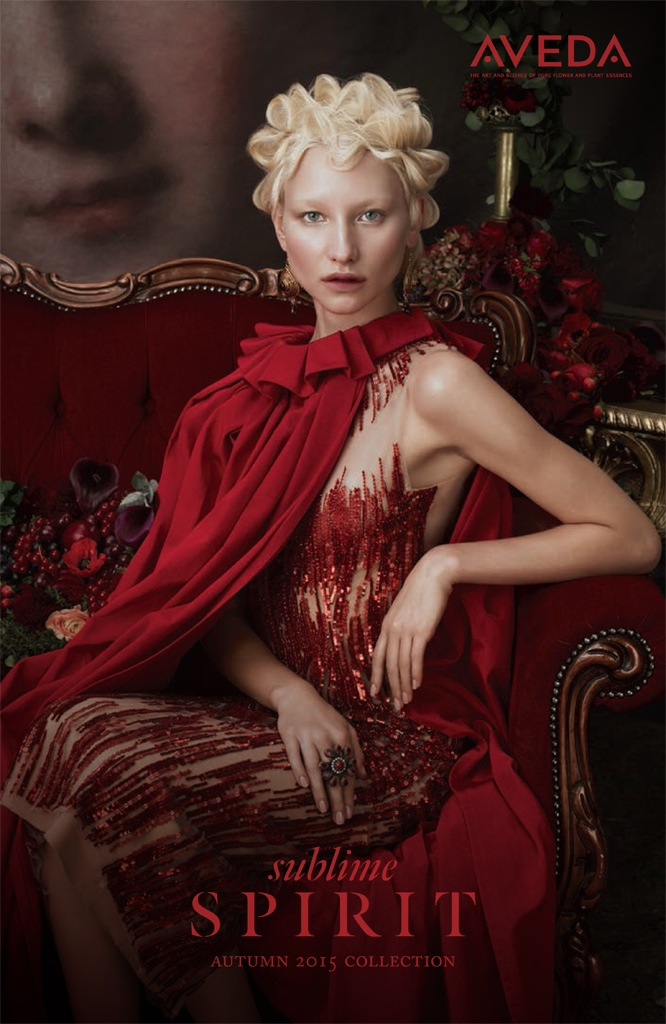 Cover of Aveda Makeup's 'Sublime Spirit' fall 2015 lookbook