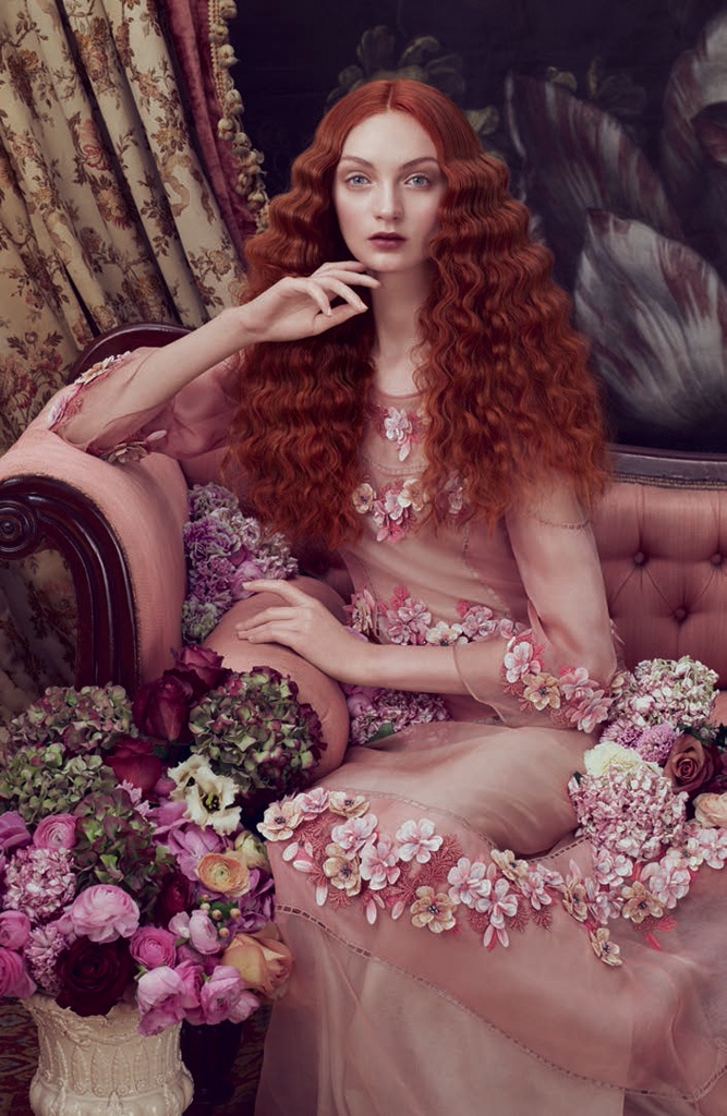 Aveda Channels Royal Portraits in 'Sublime Spirit' Lookbook