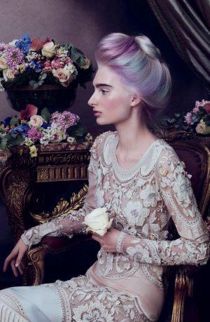Aveda Channels Royal Portraits in 'Sublime Spirit' Lookbook