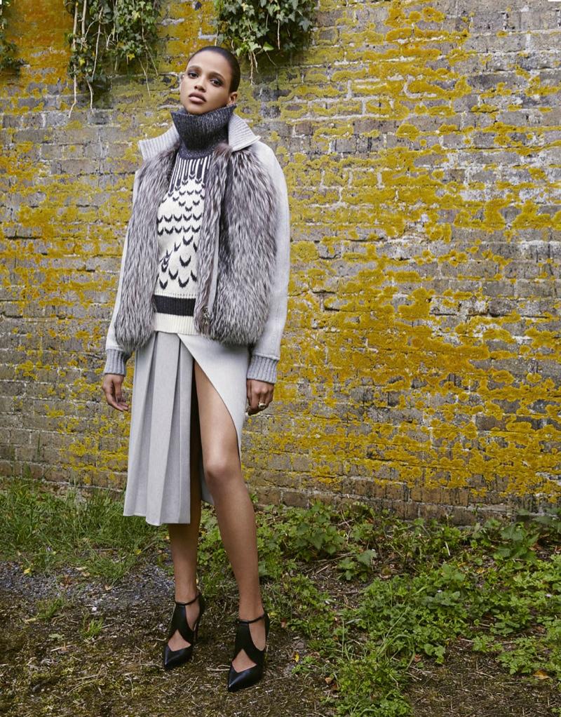 Aya models look from Proenza Schouler