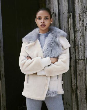 Aya Jones is a Natural Beauty for Bergdorf Goodman's Fall Catalogue