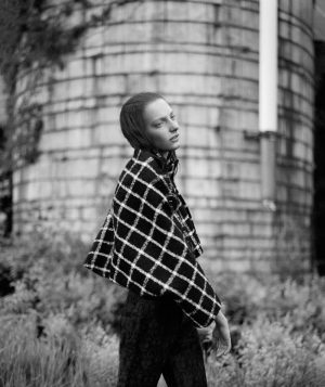 Balenciaga Girl: Zlata Semenko by Thomas Whiteside for BAZAAR Spain