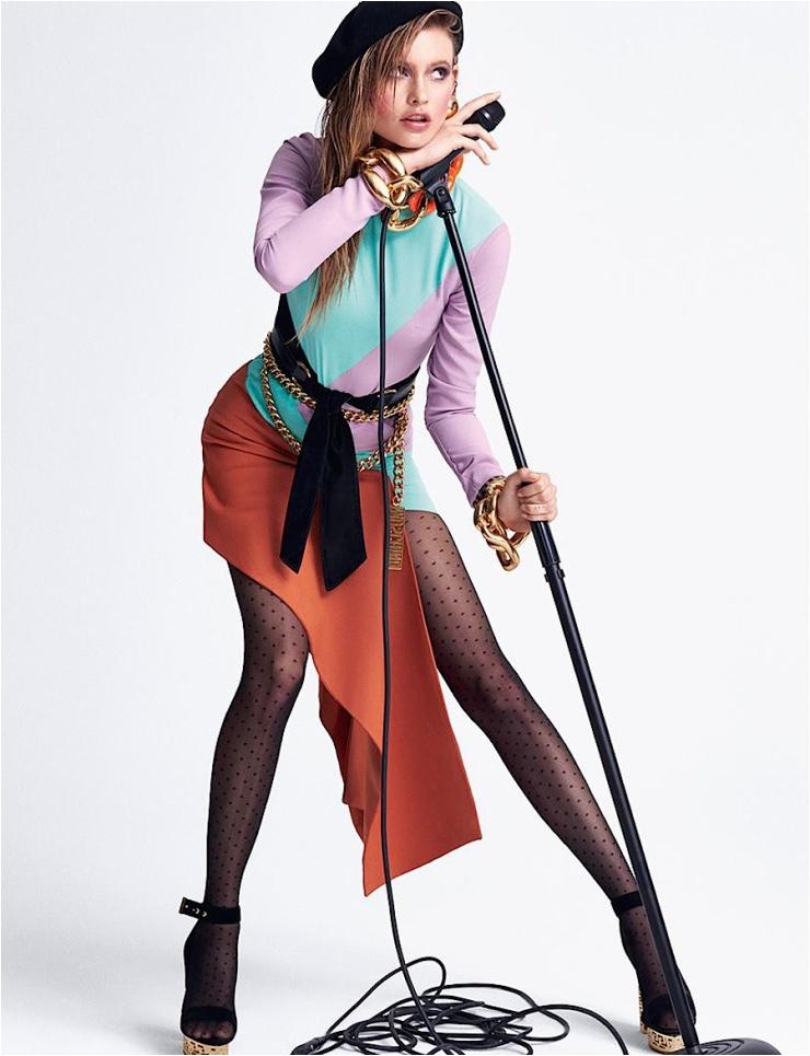 Behati Prinsloo Plays A Stylish Rock Star for Vogue Brazil