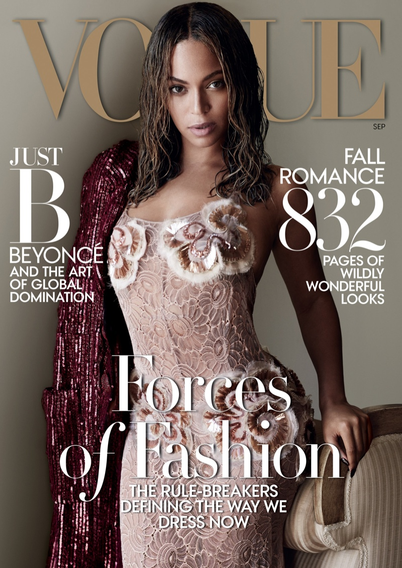 Beyonce Stars In Vogue 39 S September 2015 Cover Photoshoot