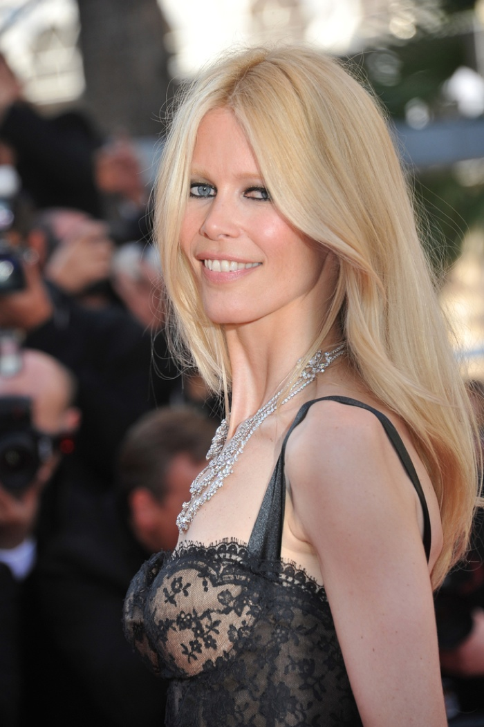 German model Claudia Schiffer. Photo: Featureflash / Shutterstock.com