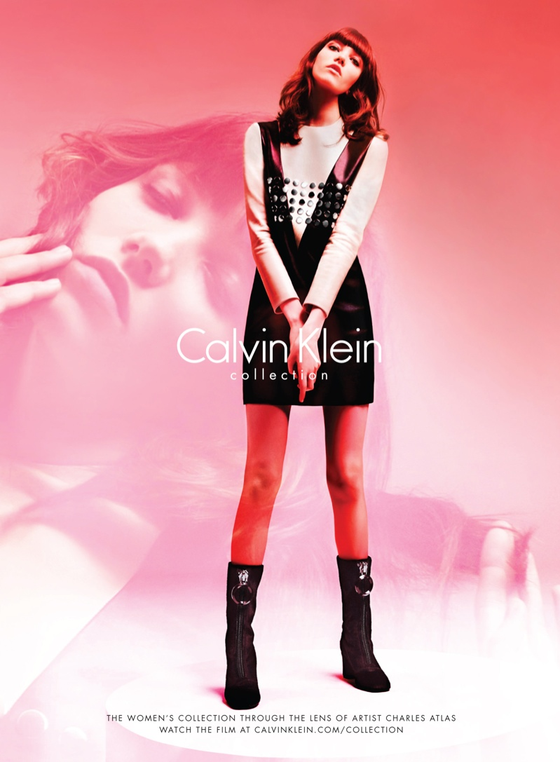 Grace Hartzel Gets Arty for Calvin Klein Collection Fall '15 Campaign