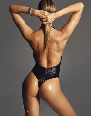 Candice Swanepoel Goes Naked for Sexy Lui Cover Story