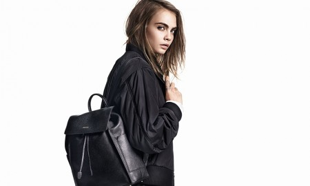 Cara Delevingne wears look from DKNY's fall 2015 collection