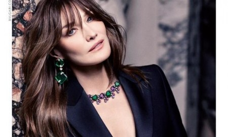 Carla Bruni stars in Bulgari's fall-winter 2015 campaign